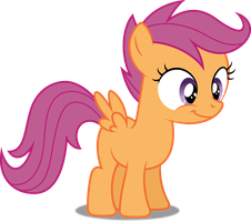 Vector #373 - Scootaloo #6 by DashieSparkle