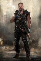 Wasteland Warrior by waza8i