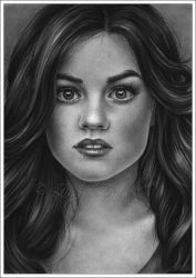 Lucy Hale - Aria from PLL by Zindy
