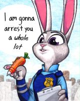 Arrest You A Whole Lot by TexasUberAlles