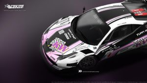 AceKite Racing - Ferrari 458 Italia GT3 2013 by Kinpixed