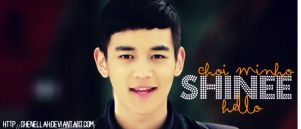 Choi Minho hello sig by shenellah