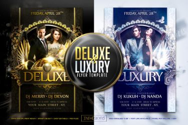 Deluxe Luxury Flyer Template by ranvx54