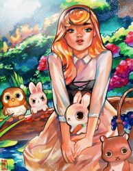 Briar Rose by rianbowart