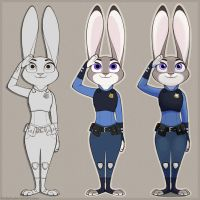 MOAR JUDY #1: Private Hopps at your service! by DirDash