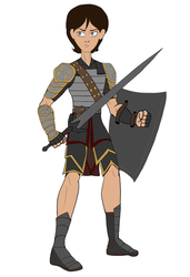 Julias - Very Basic Armor Concept by Troyodon