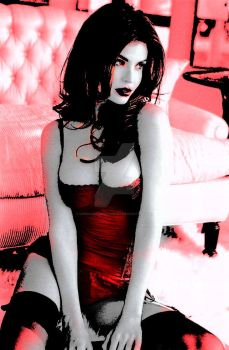 Scarrlet Angel - Red Hot Glamour by Veronica