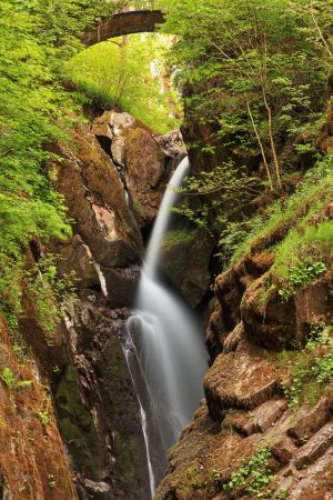 Aira Force Arch Waterfall by somadjinn