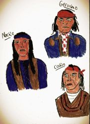 Apache Leaders by ApocaBlueMan