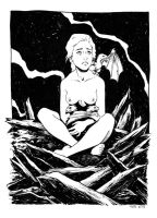 Mother of Dragons 2013, SDCC commission by TessFowler