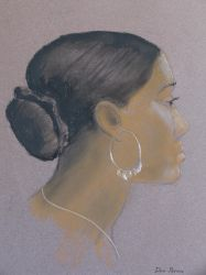 Girl With Hoop Earring by OrionShipworks