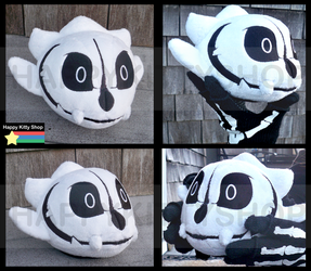 Gaster Blaster Plush Time! by HappyKittyPlushies