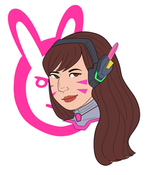 D.Va by aether-x3