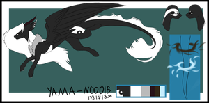 ref-Yama Noodle-draqoodle specie by thunderstorm210