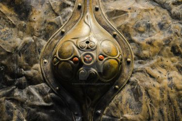 Iron Age Celtic beauty, British Museum by graphic-rusty