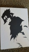 Sasuke Uchiha Spray Paint Art by CloudsOfVision