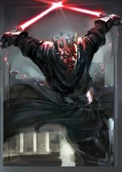 Darth Maul by JimboBox