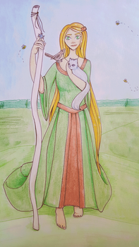 Norse Goddes - Ilmr by TheBookishWitch