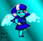 Steven Universe- Lapis Lazuli As Aquamarine by The-Smileyy