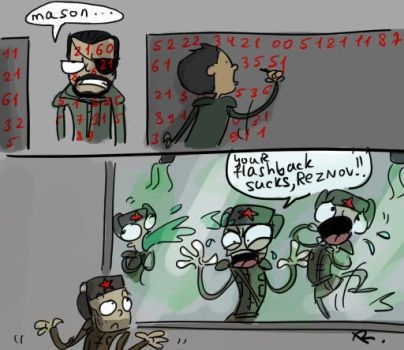 Call of Duty: Black Ops, doodles by Ayej