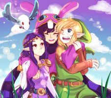 Ravio's ladies by blackorchid2007