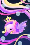 Whale - Princess Cadance for PrincessCadance8765 by wittle-wailing-whale