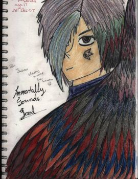 Immortally -coloured- by Twisted-Black-Rose