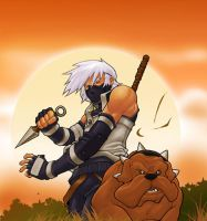 anbu kakashi by DXSinfinite