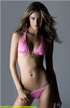 Alessandra Ambrosio and Tiny Man (request) by ToxicEyeGTS