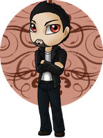 Chibi Hugh by Adela555