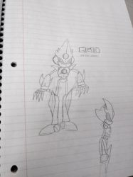 Gizoid Metal Sonic by The-Duck-Dealer