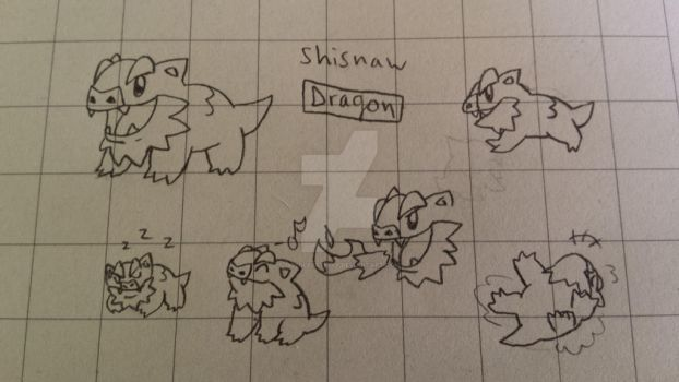 #096: Shisnaw by GoldLeafSnivy