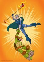 Mikey And Renet by loolaa