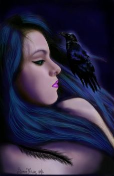 Raven Night  by MisssBarbie
