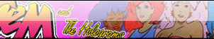 Jem and The Holograms Fan button by ShadamyFan4everS