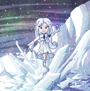 Wicked Witch of the Snow-Capped Mountains by Icy-Snowflakes