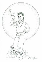 Peter Venkman...Coolness Personified by SandySchreiber