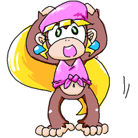 dixie kong by chtkghk