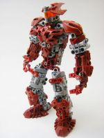 Bionicle MOC: Sparring Droid by LordObliviontheGreat