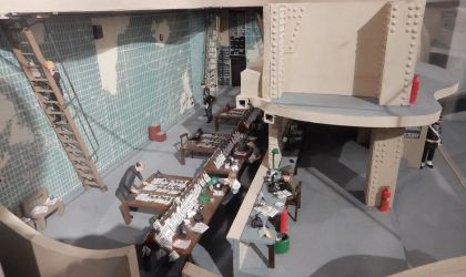 Liverpool Derby House Operations Room by rlkitterman
