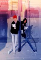 Bus Stop by PascalCampion