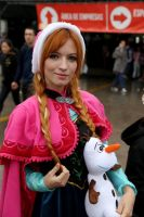 Anna - Frozen Cosplay by ThamySorel