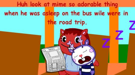 Were Going On A Road Trip On The Bus :) by firealarm1997