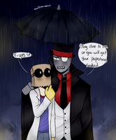 [PaperHat Request 7]: Rainy Days by owoSesameowo