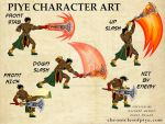 Piye Character Art2 by chriscrazyhouse