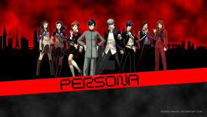 Persona Heroes Wallpaper by sungelhikaru