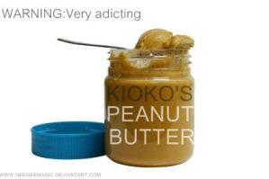 Kioko's Peanut butter by geegeemagic