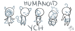 Mini Cheeb Humanoid YCH! [CLOSED] by Smelly-Mouse