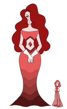 SU Adopts - Red Diamond and Red Pearl -Closed- by JoTehDemonicPickle