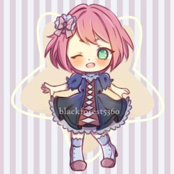 Simple Chibi sample by bl4ckforest